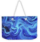 Acrylic Galaxy Painting Weekender Tote Bag