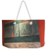 Painting On The Wall Weekender Tote Bag