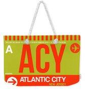 Acy Atlantic City Luggage Tag I Weekender Tote Bag