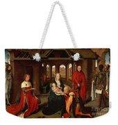 Adoration Of The Kings Weekender Tote Bag