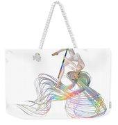 Aerial Hoop Dancing Ribbons For Her Hair Png Weekender Tote Bag