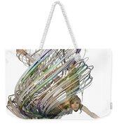 Aerial Hoop Dancing Whirlwind Of Hair Png Weekender Tote Bag