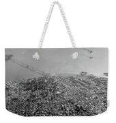 Aerial View Of Downtown San Francisco From The Air Weekender Tote Bag