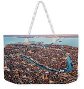 Aerial View Of Grand Canal, Venice, Italy Weekender Tote Bag