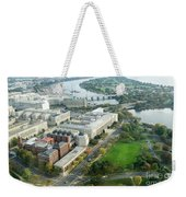 Aerial View Of Southwest Washington Dc, Including The Holocaust  Weekender Tote Bag