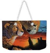 African Cats Weekender Tote Bag