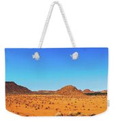 African Desert Panorama Weekender Tote Bag