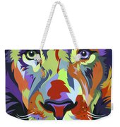African Lion Weekender Tote Bag