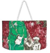 After Billy Childish Painting Otd 45 Weekender Tote Bag