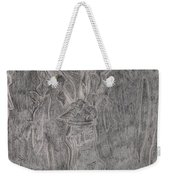 After Billy Childish Pencil Drawing 1 Weekender Tote Bag