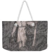 After Billy Childish Pencil Drawing 14 Weekender Tote Bag