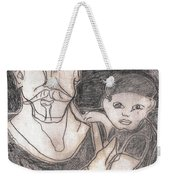 After Billy Childish Pencil Drawing 19 Weekender Tote Bag