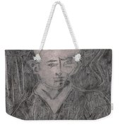 After Billy Childish Pencil Drawing 2 Weekender Tote Bag