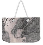 After Billy Childish Pencil Drawing 20 Weekender Tote Bag