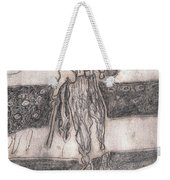 After Billy Childish Pencil Drawing 24 Weekender Tote Bag