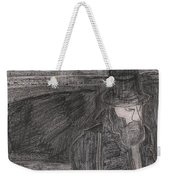 After Billy Childish Pencil Drawing 32 Weekender Tote Bag