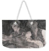 After Billy Childish Pencil Drawing 33 Weekender Tote Bag