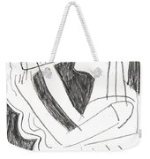 After Mikhail Larionov Pencil Drawing 1 Weekender Tote Bag