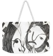 After Mikhail Larionov Pencil Drawing 14 Weekender Tote Bag