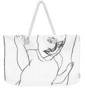After Mikhail Larionov Pencil Drawing 16 Weekender Tote Bag