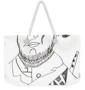 After Mikhail Larionov Pencil Drawing 2 Weekender Tote Bag