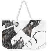 After Mikhail Larionov Pencil Drawing 4 Weekender Tote Bag