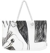 After Mikhail Larionov Pencil Drawing 5 Weekender Tote Bag