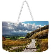 After The Rain On The Trail Weekender Tote Bag