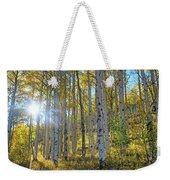 Afternoon Aspens Weekender Tote Bag