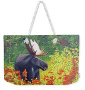Afternoon Munch Weekender Tote Bag by Tracey Goodwin