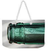 Air Bubbles In Vintage Glass Weekender Tote Bag