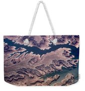 Air View Of The Colorado River Weekender Tote Bag