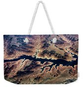Air View Of The Grand Canyon Weekender Tote Bag