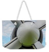 Aircraft Propellers. Weekender Tote Bag by Anjo Ten Kate