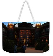 Ak Lodge Lobby Christmas Weekender Tote Bag