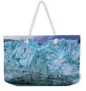 Alaskan Blue Glacier Ice Weekender Tote Bag