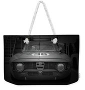Alfa Laguna Seca Weekender Tote Bag