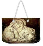 All Dogs Are Angels Weekender Tote Bag