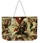 Allegory Of The Holy Eucharist Weekender Tote Bag