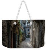 Alleys Of San Marino Weekender Tote Bag