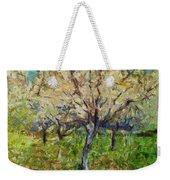 Almond Orchard Weekender Tote Bag