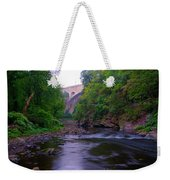 Along The Wissahickon At The Henry Avenue Bridge Weekender Tote Bag
