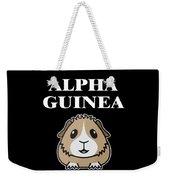 Alpha Guinea Pig Weekender Tote Bag
