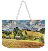 Alpine Beauty Weekender Tote Bag