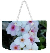 Alpine Rockjasmine Up Close Weekender Tote Bag