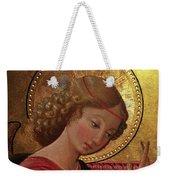 Altarpiece Angel Antique Christian Catholic Religious Art Weekender Tote Bag