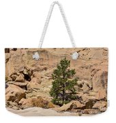 Amazing Life On The Sandstone Cliffs Weekender Tote Bag