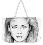 Amber Heard Weekender Tote Bag