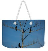 American Crows In Bare Tree Weekender Tote Bag