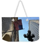 American Flag Downtown La Weekender Tote Bag